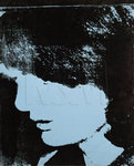 Fine Art Print of Jackie- Inauguration (Profile Facing Right), 1964 by Andy Warhol