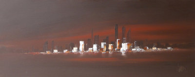 Manhattan Inspiration by Dennis Wood - art