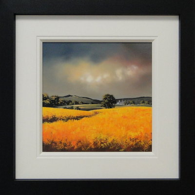 The Golden Glow Of Home by Allan Morgan - art
