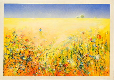 The Wild Side, Field Margin by David Wilde - art