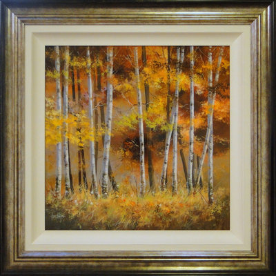 Silver Birch by Allan Morgan - art
