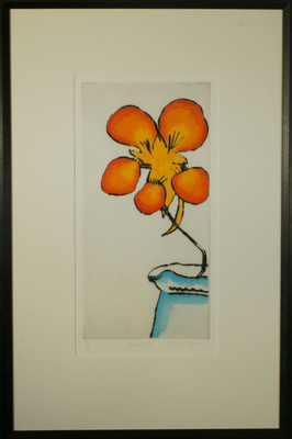 Nasturtium by Richard Spare - art