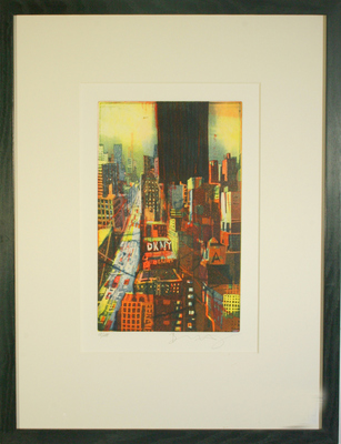 8th Avenue New York by Bernhard Vogel - art
