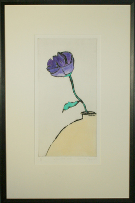 Lisianthus Solo by Richard Spare - art