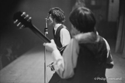 Mick on the mike, Studio 51, London (medium) by Philip Townsend - art