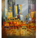 The Big Apple At Night by David Farren - art