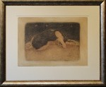 Sleeping Saskia by Roy Fairchild - art