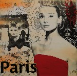 Audrey Hepburn 'Paris'