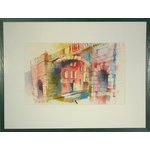 Lower Bridge Street Chester by Ian Fennelly - art