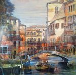 Venezia I by Angelo Bellini - art