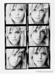 Edina Ronay Contact Sheet (small) by Philip Townsend - art