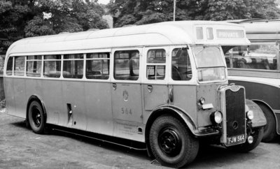 Guy Motor Bus, Wolverhampton, Mid 20th century by Unknown - print