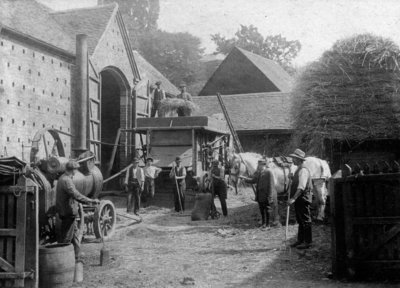 Compton Farm, Tettenhall, circa 1920 by Unknown - print