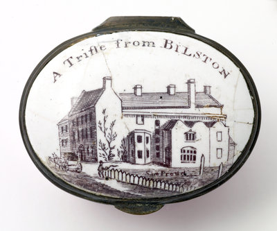 ATrifle from Bilston, Bilston Patch Box, 1760 - 1780 by Unknown - print