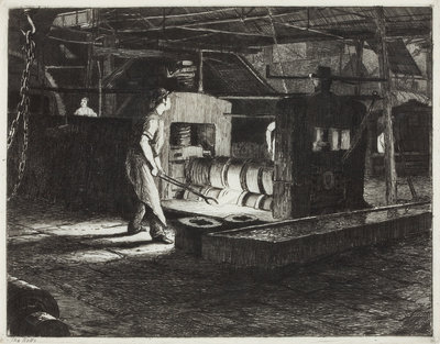 The Rolls, 1872 by Richard Samuel Chattock - print