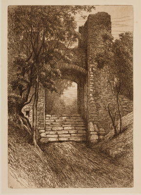 Entrance to the Courtyard, 1864 - 1908 by Henry Pope - print