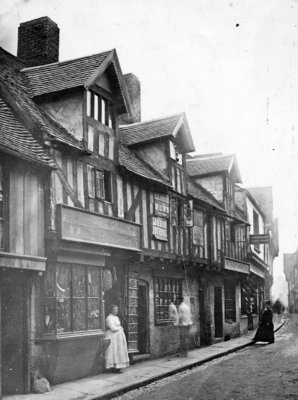 Lichfield Street, Wolverhampton, 1870 by Unknown - print