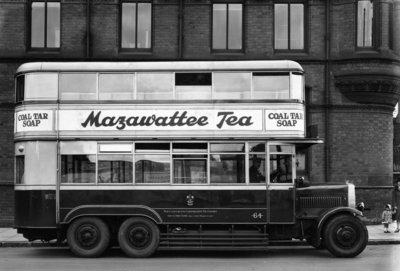 Guy Motor Bus, Wulfruna Street, Wolverhampton, 1920s by unknown - print