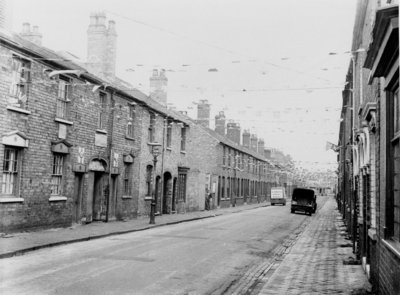 Hartshorn Street, Bilston, 1953 by unknown - print