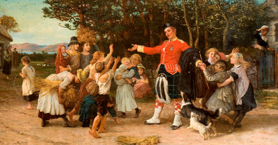 The Highland Laddie's Return, 1878 - 1886 by Phillip Richard Morris - print