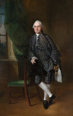 Sir Edward Turner, 1762 by Thomas Gainsborough - print