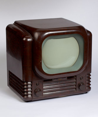 Bakelite Bush television set, 1950 by Unknown - print