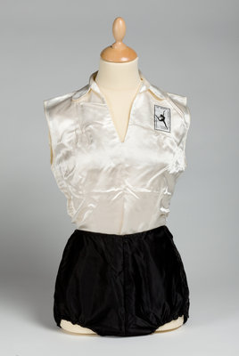 Women's League of Health and Beauty uniform, c.1960 by Unknown - print