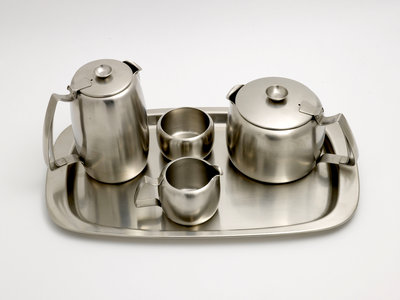 Connaught tea set made by Old Hall of Bloxwich, 1970s by Unknown - print