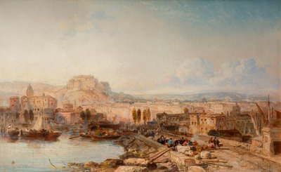 Naples, 1878-1879 by James Webb - print