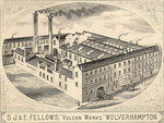 S. J. &amp;amp; E. Fellows, Vulcan Works, circa 1900 by Unknown - print