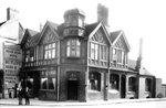 Seven Stars Hotel, Bilston, 1934 by Unknown - print
