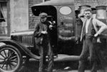 Delivery Lorry & Employees, C. L. Farmer, Wolverhampton, 1920s by Unknown - print