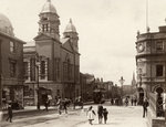 Darlington Street, Wolverhampton, c 1902 by Unknown - print