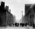Children, Hare Street, Bilston, circa 1960 by Unknown - print