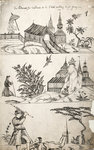 Pattern Book: Traditional Scene, 1688 by Unknown - print