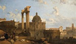 Ruins of a Roman Capitol, 1859 by Davis Roberts - print