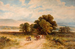 Going Home, 1875 by James Edwin Meadows - print
