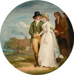 Love and Charity, Late 18th century by Francis Wheatley - print