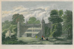 Tixall Abbey, Staffordshire by T Radcliffe - print