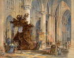 Mechlin Cathedral, 1860 - 1890 by Wyke Bayliss - print