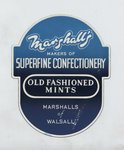 Marshall's sweets label, Walsall Lithographic Co. Ltd., by Unknown - print