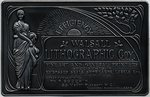 Walsall Lithographic advertising plaque, c.1894 - 1905 by Unknown - print