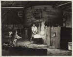 The Puddling Furnace, 1872 by Richard Samuel Chattock - print