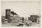 The Coke Hearth in Cradley, 1872 by Richard Samuel Chattock - print