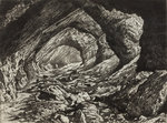 The Wrens Nest - Limestone Caves, 1872 by Richard Samuel Chattock - print