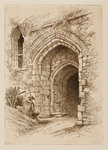 Triple Gateway from the Courtyard, 1864 - 1908 by Henry Pope - print
