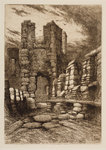 On the Battlements, 1864 - 1908 by Henry Pope - print