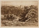 View from the Priory Grounds, 1864 - 1908 by Henry Pope - print