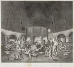 Interior of the Aston Flint Glassworks, c.1820 by Richard Samuel Chattock - print