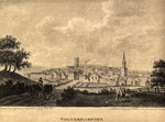 View of Wolverhampton from Graiseley Hill, 1796 by Unknown - print